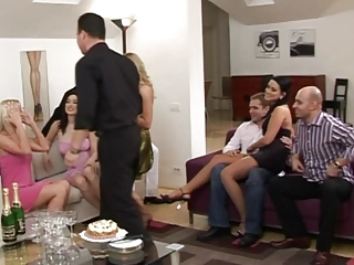 Drunk Groupsex  Orgy Party Swingers