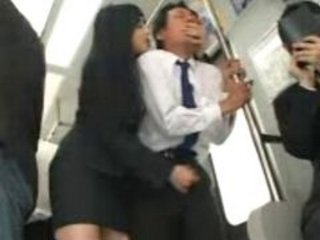 Asian Clothed Handjob  Public