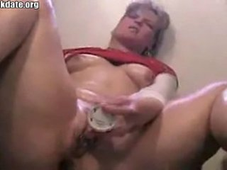 Amateur Chubby Masturbating  Solo Toy