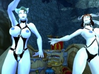 Two Busty Draenei