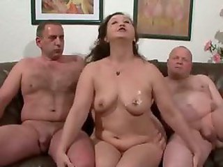 Chubby Mature Older Threesome