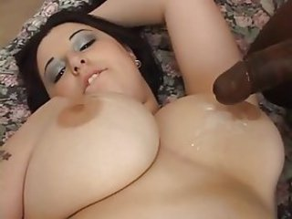 Big Tits Cumshot Interracial  Natural