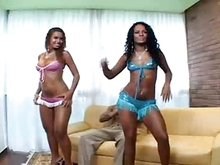 Amazing Brazilian Latina  Threesome