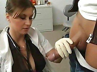 Doctor Handjob  Uniform