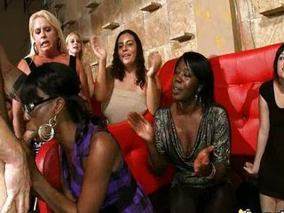 Blowjob  Ebony Interracial  Party