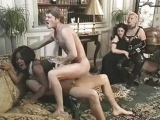 Vintage Anal Groupsex With Mathilda