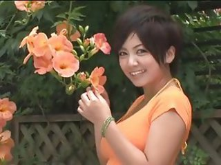 Asian Babe Japanese Outdoor