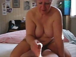 My Mum Jerking My Dad. Stolen Video From Daddy Compu...