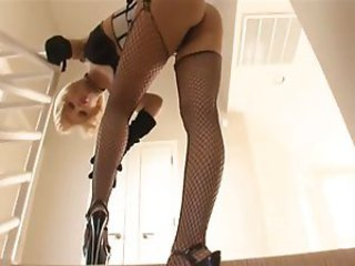 Amazing Fishnet Legs  Pornstar Stockings