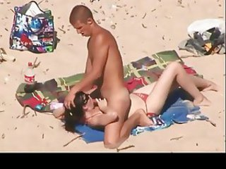 Beach Blowjob Girlfriend Nudist Outdoor Teen Voyeur