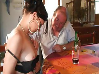 Daddy Daughter Drunk Old and Young Teen