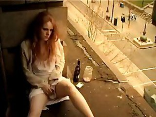 Amateur Drunk Masturbating Outdoor Public Redhead Teen