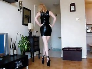 Amateur Ass Girlfriend Homemade Latex Legs