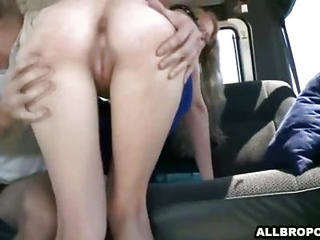Hot Girl Fucks And Sucksa Hard  Cock For Some Cash