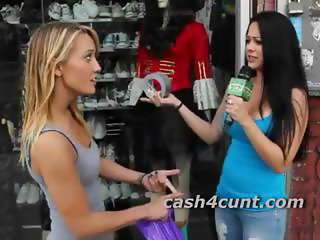 Wizened hot peaches cash to get naked in public and show off her pussy