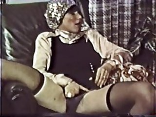 Masturbating Stockings Vintage