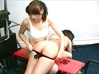 dancer spanked 1