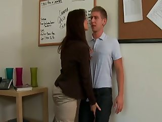 His First Teacher Anal