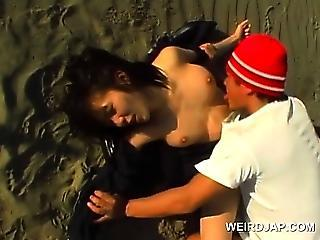Asian Beach Japanese Outdoor Teen