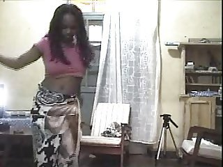 Dancing Ebony Teen Webcam