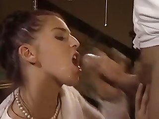 cum in her mouth compilation