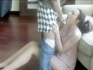 Amateur Blowjob Clothed Girlfriend Homemade