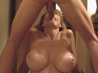 Big Tits Blowjob Mature Wife