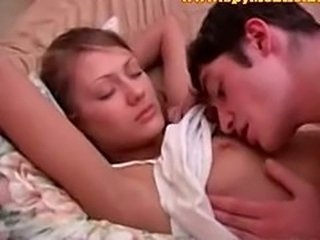 Sleeping Small Tits Teen