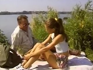Daddy Daughter Old and Young Outdoor Teen