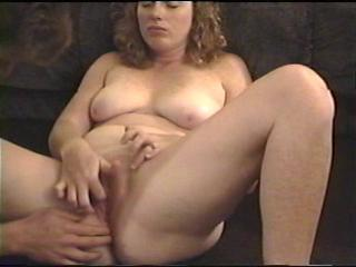 Amateur Chubby Masturbating  Wife