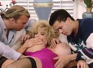 Big Tits  Pornstar Threesome Vintage