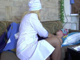Milf nurse Bridget cures her patient with her pussy Sex Tubes