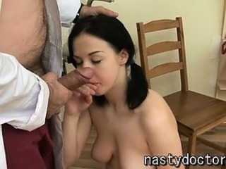 Blowjob Daddy Doctor Old and Young  Teen