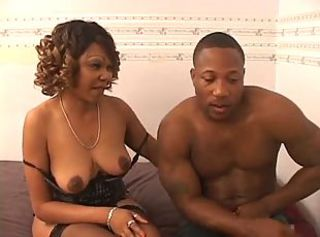 Ebony Mature Mom Old and Young