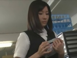 Asian Japanese Office Secretary Uniform
