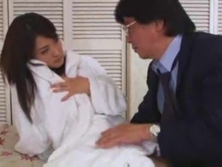 Asian Babe Cute Daddy Japanese Old and Young Pornstar