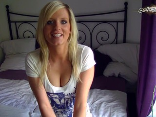 Amateur Blonde Girlfriend Homemade
