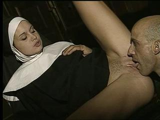Clothed Licking Nun Pornstar Uniform Vintage