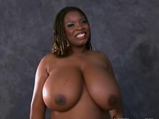 Big Tits Ebony  Natural