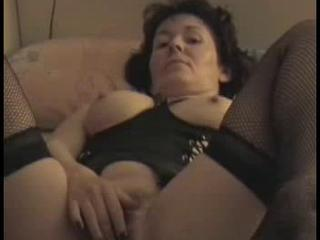 "Mature hairy Milf masturbating for hubby "" class=""th-mov"