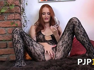 "Gyno dildo in her huge redhead vagina"" class=""th-mov"