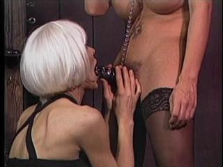 "Tranny gets gagged and dick bound"" class=""th-mov"
