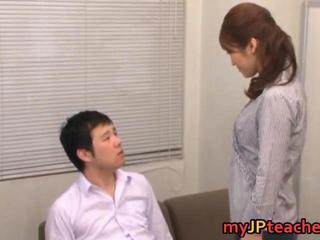 Asian Japanese  Mom Old and Young Teacher