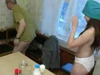 Amateur Daddy Kitchen Nurse Old and Young Panty Russian Teen Uniform