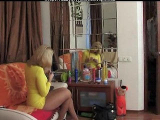Mom Old and Young Pantyhose Russian Voyeur