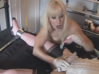 "Madame C teases, shaves and penetrates MadamesAngelica"" class=""th-mov"