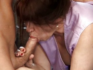Blowjob European German Mature