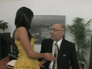Elder Boss Fucks His Young Secretary