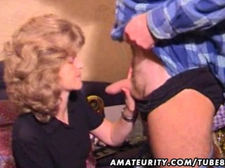 Amateur Blowjob Homemade MILF Small cock Wife