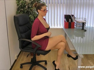 Amazing Glasses Legs  Office Secretary